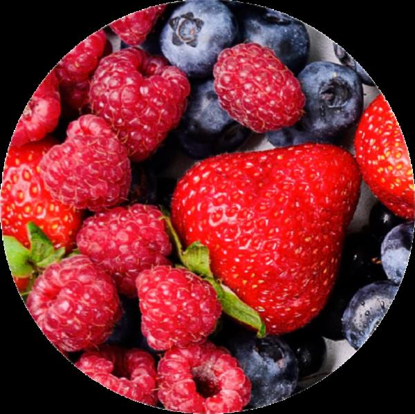 Mix de fresas, frambuesas y arándanos