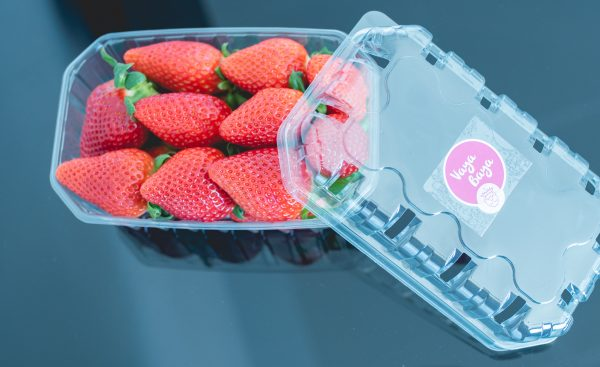 tarrina de fresas