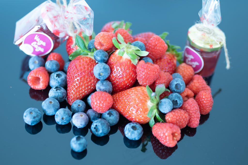 Variado de frutas