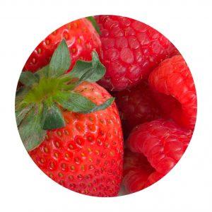 Mix de fresas y frambuesas
