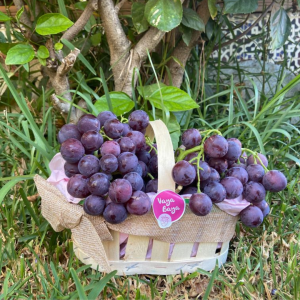comprar uva de mesa cesta de mimbre de 1kg